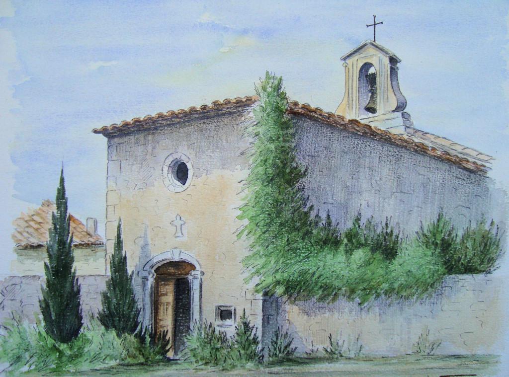 chapelle saint michel en couleur M FAGE